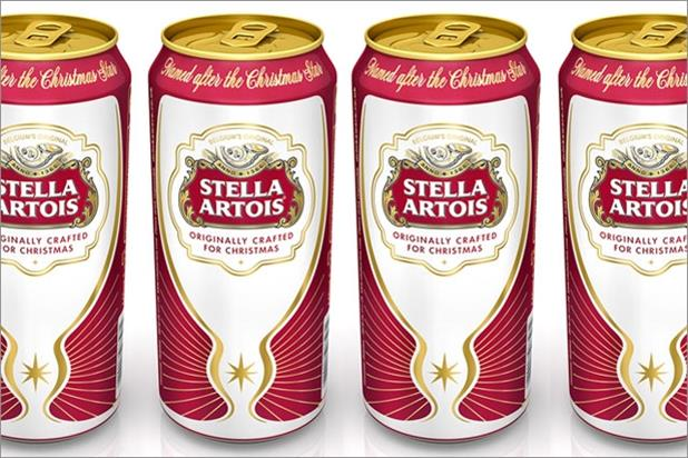 Stella Artois: celebrates its Christmas roots