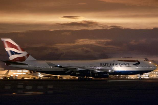 BA: using Facebook to promote its Flying Britons Home campaign