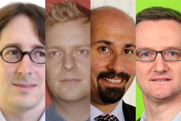Benedict Evans, Tim Millar, lya Kazi and Kieran Bourke