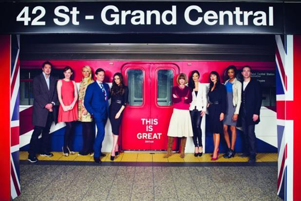 Great: British fashion campaign
