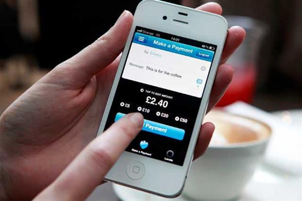 Barclays: promotes Pingit app