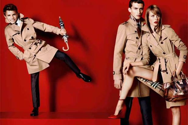 Burberry: Romeo Beckham appears in the latest campaign