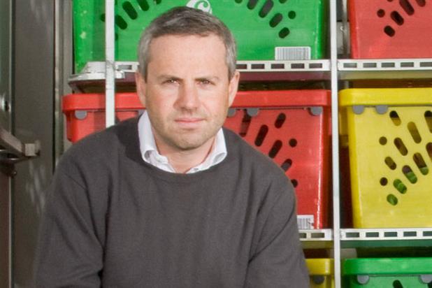 Tim Steiner: chief executive of Ocado