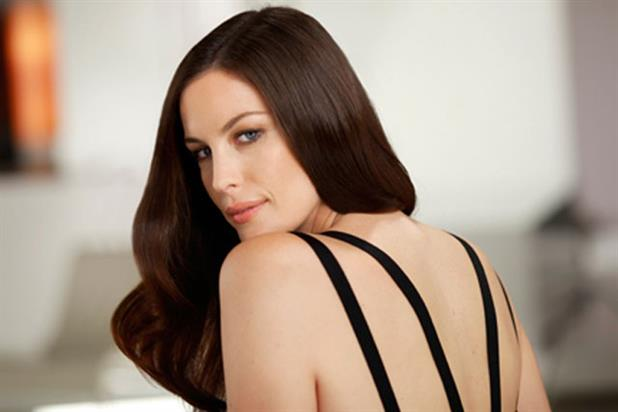 Liv Tyler: signed up as the new face of Pantene