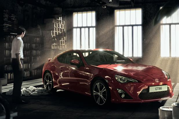 Toyota ad's hero escapes his dull, make-believe world in a GT86
