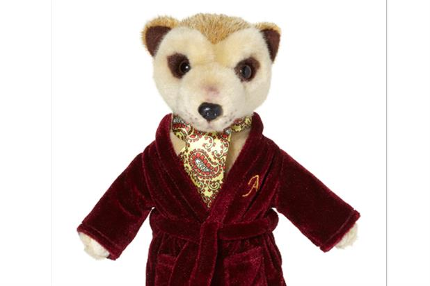 The Aleksandr Orlov doll: to be given away on certain purchases