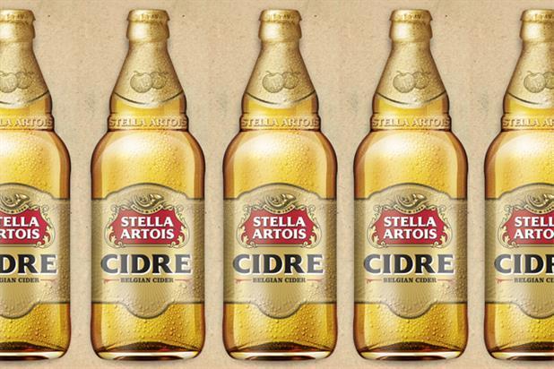 Stella: moves into the cider market