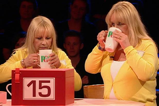 PG Tips: sponsors Deal or no Deal