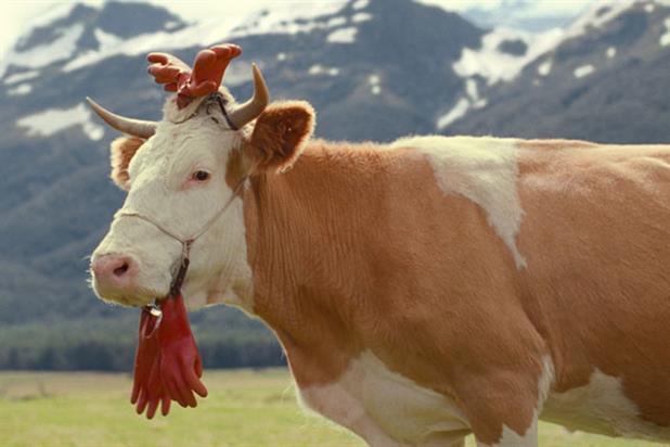 Kraft: Milka cow ad for the company's flagship chocolate brand