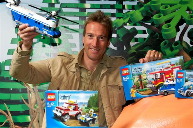 Ben Fogle: teams up with Lego