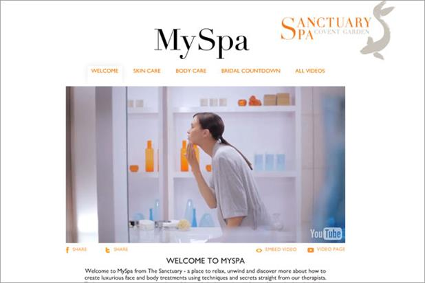 Sanctuary Spa: revamps YouTube channel