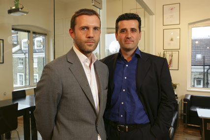 Rob Forshaw (l) and Matt Nicholls: joint CEOs