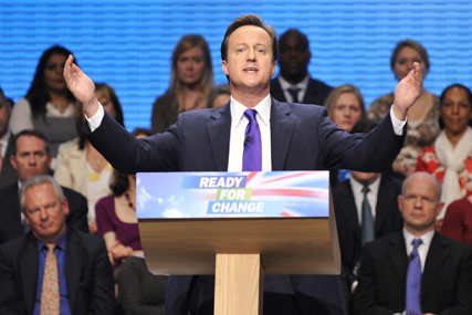 David Cameron: wants more social responsibility