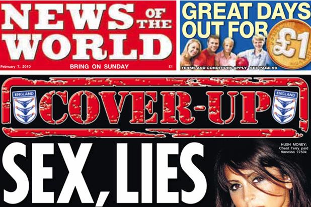 Advertisers are steering clear of the News of the World following allegations