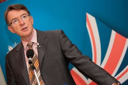 Lord Mandelson…to punish people who download files illegally