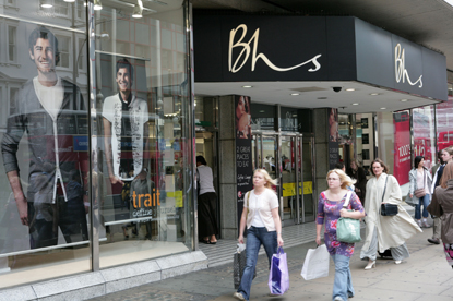 Bhs…part of the Arcadia Group ad portfolio won by Grey