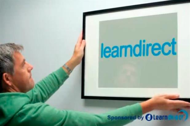 Learndirect: '60 Second Makeover' sponsorship ad