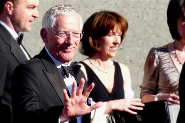 Nick Hewer: The Apprentice star at the 2009 BAFTA Awards (Credit: Damo 1977, flickr)
