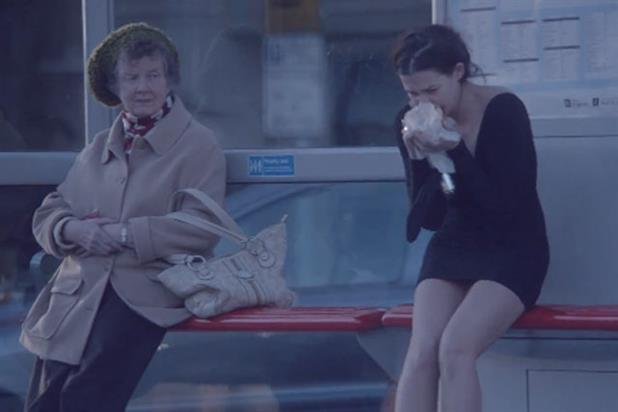 Harvey Nichols: 'walk of shame' viral