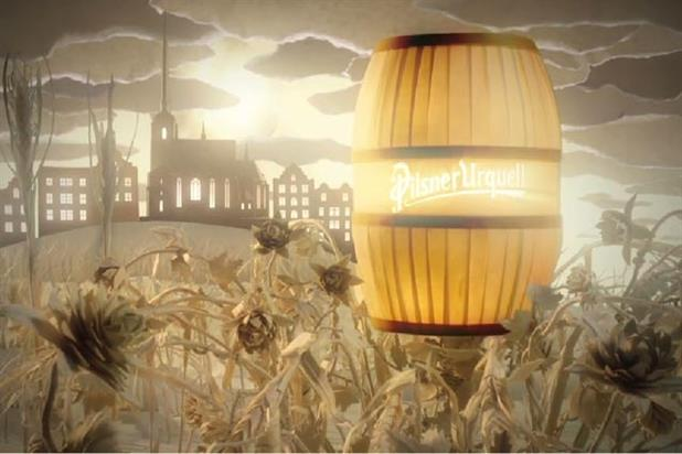 Pilsner Urquell: beer brand launches animated online campaign