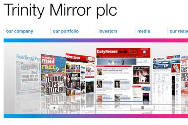Trinity Mirror: enlisting an ad agency to help it launch a deals website next year