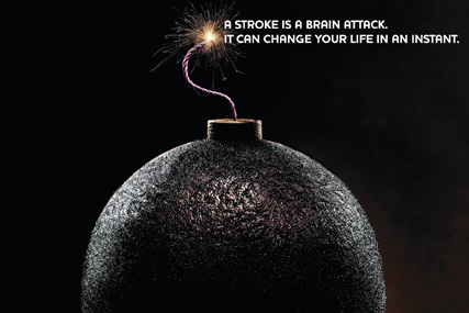 Stroke Association: brief includes some digital elements