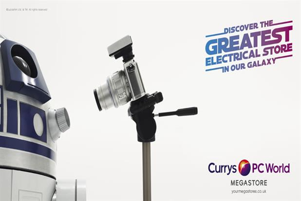 Recent Walker Media work: Currys