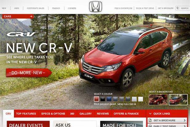 Honda: runs CR-V activity
