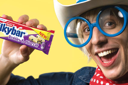 Milkybar: Nestlé launches ungrow-up campaign