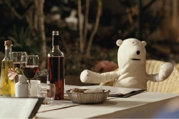 Birds Eye: Clarence the Bear promotes Catch Fresh brand