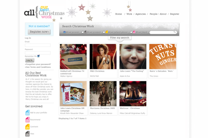 IPA website will showcase Christmas work