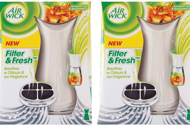 Air Wick:adds filter and fresh variant to its air freshener range