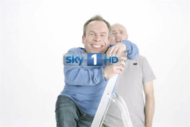 Sky 1: Warwick Davis and Karl Pilkington star in idents for An Idiot Abroad