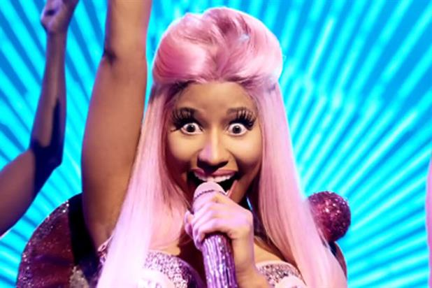 Nicky Minaj: stars in the latest Pepsi campaign