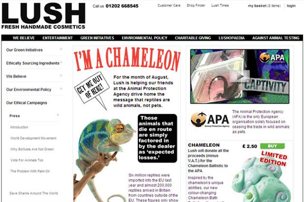 Lush: ASA found claims in online ad were misleading