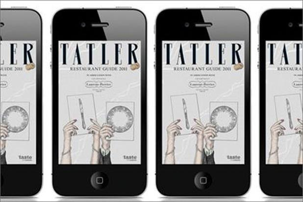 Tatler restaurant guide iPhone app