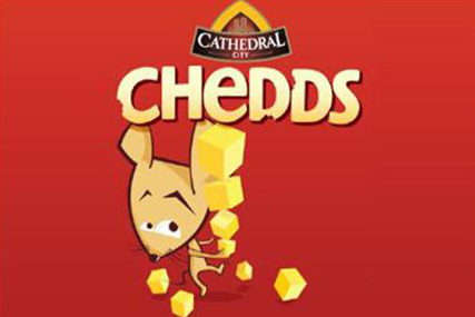 Chedds…stepping up Dairy Crest's rivalry with Kraft