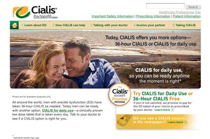 cialis print advertisement - photo #1