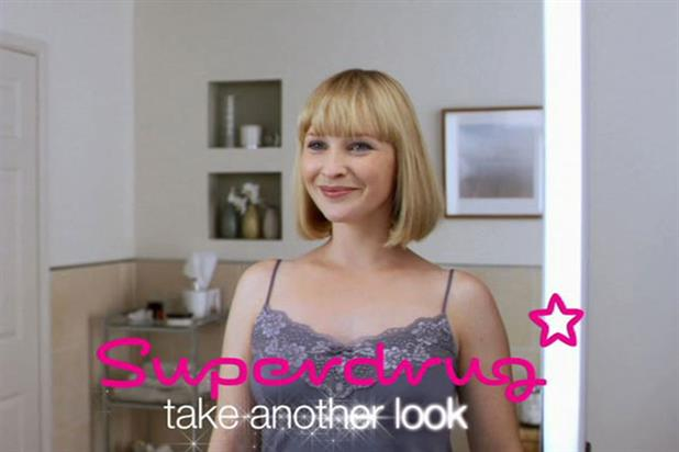 Superdrug: spent £6 million on advertising last year