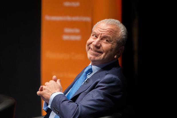 Lord Sugar: discusses advertising and the media at Nabs