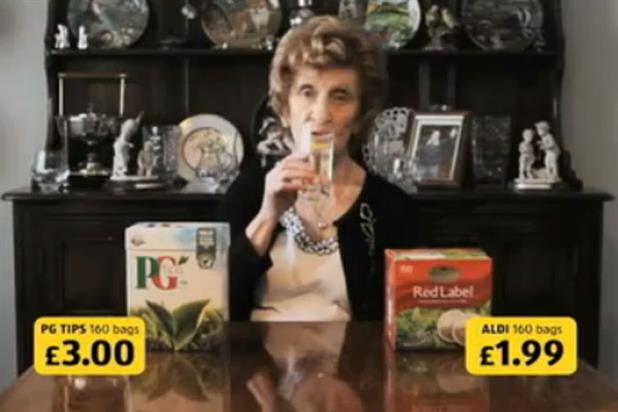 Aldi: ASA clears ad featuring woman who prefers gin to tea