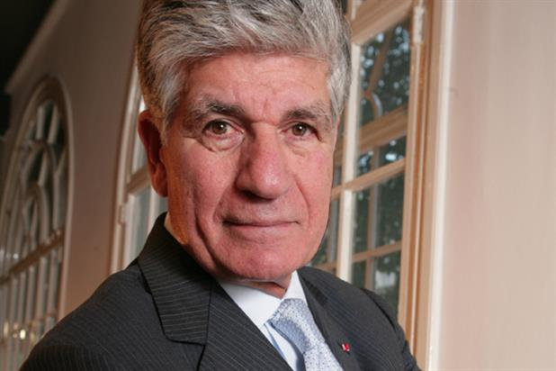 Maurice Levy: chairman and chief executive of Publicis Groupe
