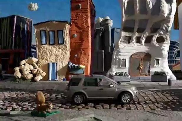 Land Rover: Freelander 2 animated campaign launched