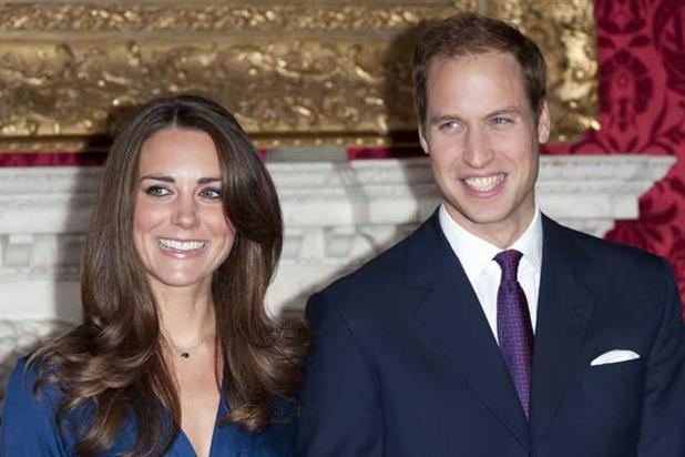 The Thirty Club guests: The Duke and Duchess of Cambridge