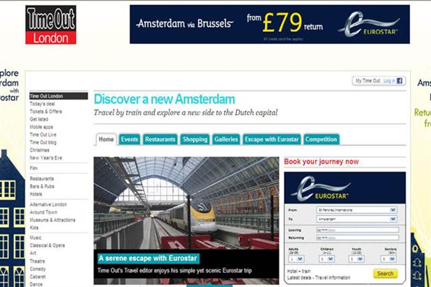 Recent work for Eurostar