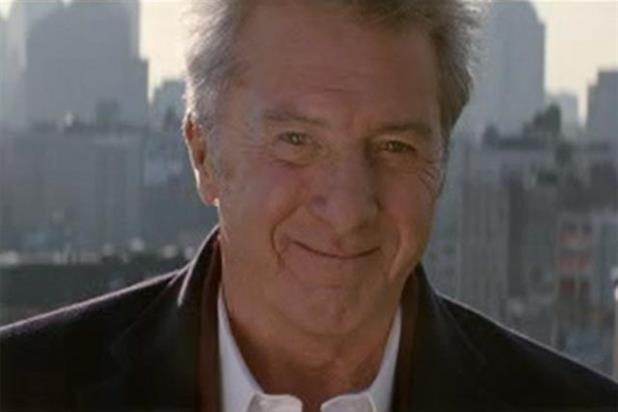 Dustin Hoffman: appears in promotional ad for Sky Atlantic