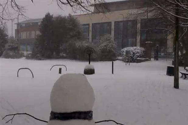 Daily Diary - John Lewis snowman's journey continues