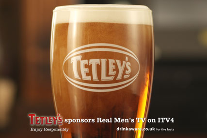 Tetley's…part of a £5m investment in bitter brands