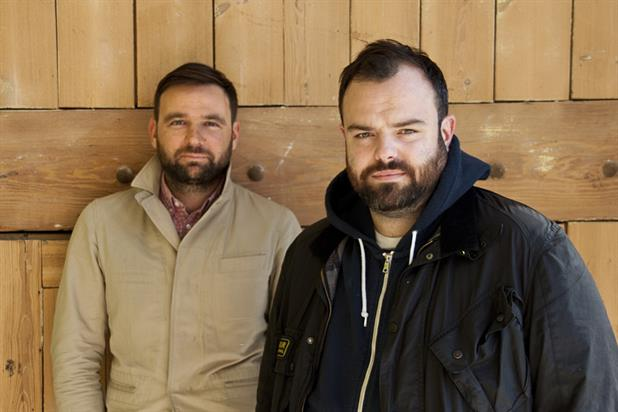 Brim (l) and Fisher: the duo created the Sunday Times Rich List campaign at CHI & Partners