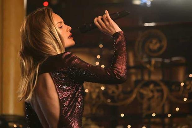 Kate Bosworth: actress sings in music video for Topshop's Christmas campaign